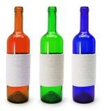 стекло бутылок стоковое изображение