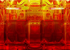 стекло горячее Стоковое фото RF