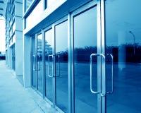 стекло двери Стоковое Изображение