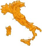 Стекло еды макаронных изделия Италии лоснистое Стоковые Изображения RF