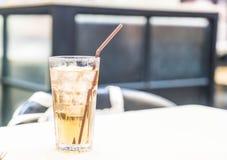 стекло заморозило чай Стоковое Изображение RF