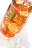стекло заморозило чай Стоковое Фото