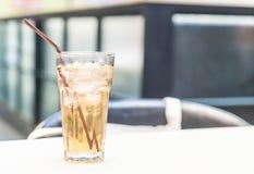 стекло заморозило чай Стоковые Фото