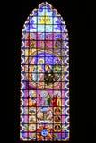 стекло запятнало окно Стоковые Изображения RF