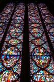 стекло запятнало Стоковые Фотографии RF
