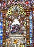 стекло запятнало Стоковые Фото