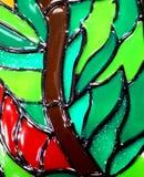 стекло запятнало Стоковое Изображение RF