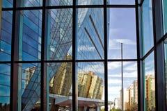 Стекло здания взгляд окна здания Стоковые Фото