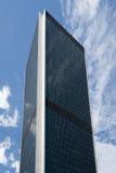 стекло здания сделало сталь офиса Стоковая Фотография