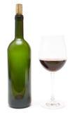 стекло имея вино стоковые фотографии rf