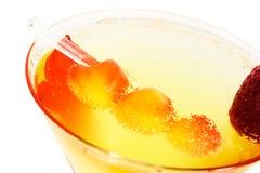стекло коктеила вишни Стоковые Изображения RF