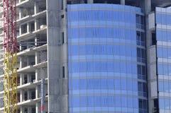 стекло конструкции здания самомоднейшее Стоковое фото RF