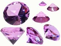 стекло кристаллов Стоковое Изображение RF