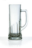 стекло пива пустое Стоковые Фото