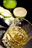 стекло питья спирта Стоковое Фото