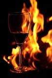 стекло пожара Стоковое Фото