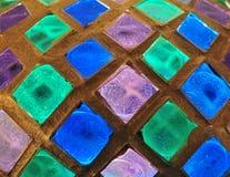 стекло предпосылки цветастое Стоковые Изображения RF