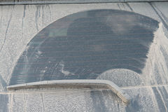 стекло пыли автомобиля 4x4 Стоковое Фото