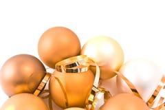 стекло рождества шариков Стоковая Фотография RF