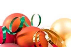 стекло рождества шариков Стоковые Изображения