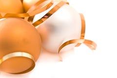 стекло рождества шариков Стоковое Изображение