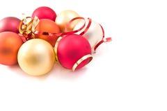 стекло рождества шариков Стоковая Фотография