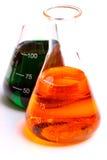 стекло склянки химикатов Стоковые Фото