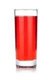 Стекло сока вишни Стоковое Изображение RF