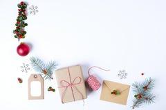 стекло состава рождества bauble голубое Стоковые Фото