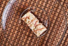 стекло тарелки печенья сверх Стоковая Фотография RF