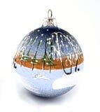 стекло украшения рождества Стоковые Фотографии RF