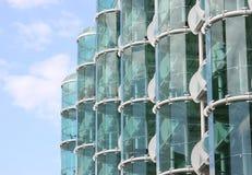 стекло фасада стоковая фотография