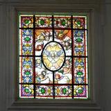 стекло христианской церков Стоковое Изображение