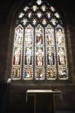 стекло церков запятнало окно Стоковое Изображение RF