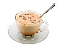 стекло чашки какао Стоковое Фото