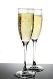 стекло шампанского Стоковые Изображения RF