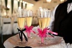 Стекло Шампань Стоковое Фото