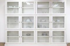 стекло шкафа Стоковые Фото