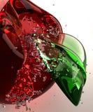 стекло яблока Стоковые Изображения RF