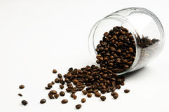 стекло coffe Стоковое Фото