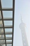 стеклянная башня небоскребов shanghai перлы Стоковое Фото