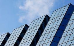 стеклянная башня стоковое изображение