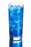 стеклянная вода льда Стоковое Изображение