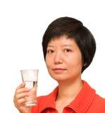 стеклянная вода повелительницы Стоковое Изображение