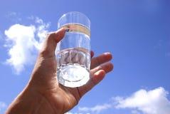 стеклянная вода неба Стоковое Изображение