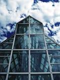 стеклянная дом Стоковое Фото
