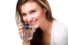 стеклянная женщина воды Стоковые Фото