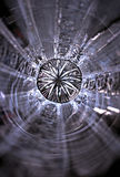 стеклянная звезда Стоковые Фотографии RF