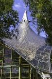 Стеклянная конструкция крыши внутри Olympic Stadium Мюнхена Стоковая Фотография