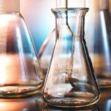 стеклянная лаборатория стоковая фотография rf